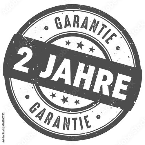 Fotografía  Runder 2 Jahre Garantie  Stempel