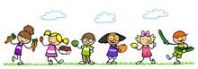 Kinder Essen Obst Und Gemüse ...