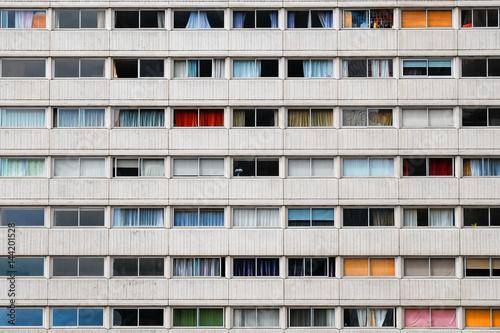 immeuble habitation appartement  fenêtre habiter se loger cité façade vivre urba Wallpaper Mural
