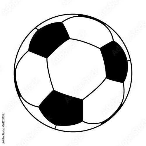In de dag Bol 3D logo of football (soccer) ball.