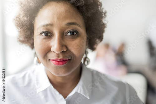 Photo  Portrait Of Girl african
