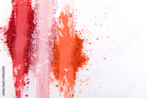 Fotografía  Beauty, makeup cosmetics, blush splash palette