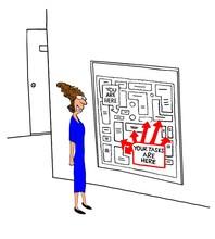 Business Illustration Showing ...