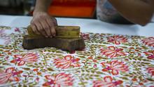 Block Printing For Textile In India. Jaipur Block Printing Traditional Process