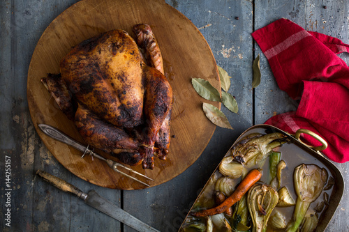 Jamaican Spiced Turkey Poster