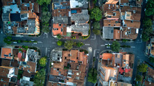 Aerial Photo Of Urban Streets ...