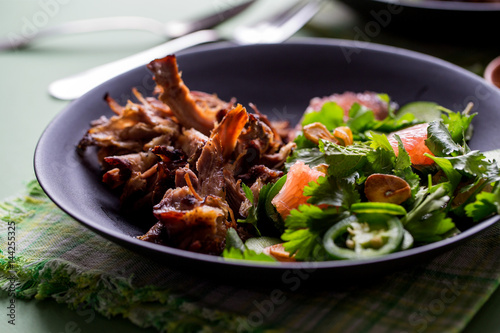Shredded Thai Pork - 144255325