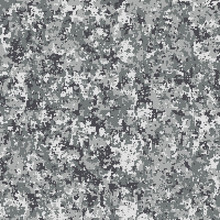 Seamless Pattern. Abstract Military Camouflage Background. Gray Color For Urban Streets. Made From Geometric Square Shapes.