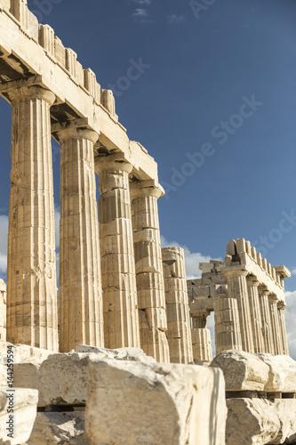 Fotobehang Athene Ruins of Poseidon temple (Greece)