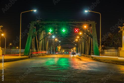 Memorial Bridge, is a bascule bridge over the Chao Phraya River in Bangkok, Thai Wallpaper Mural