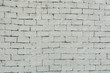 White color painted brick wall texture. Background for text or image.