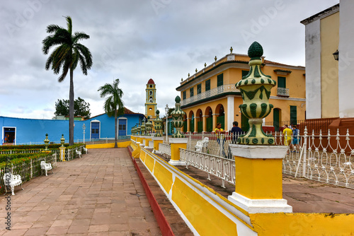 Plaza Mayor - Trinidad, Cuba Canvas Print
