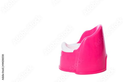 Photo A pink children's potty