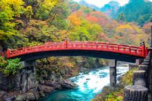 The Red Bridge Of Nikko