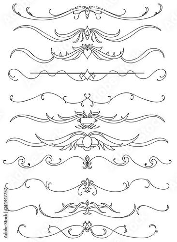 Fotografering  Motifs calligraphique