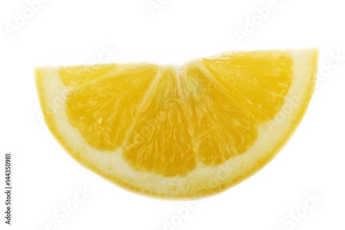 Foto op Aluminium Vruchten lemon slice isolated