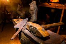 Forge, Anvil, Knife Making.