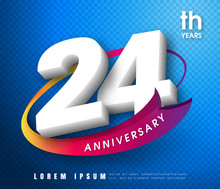 Anniversary Emblems 1 Anniversary Template Design