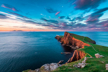 Famous Dusk At The Neist Point...