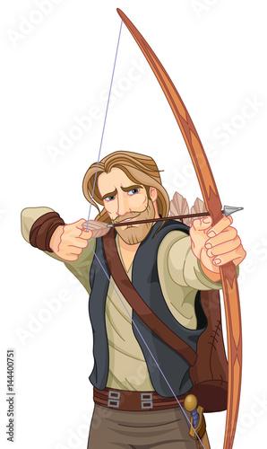In de dag Sprookjeswereld Robin Hood