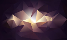 Abstract Triangle Background. ...