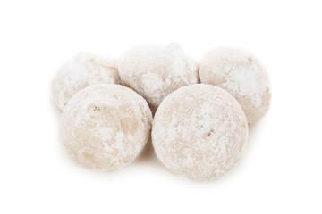 Fototapeta na wymiar candy truffles isolated on white background