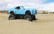 Monster Truck Offroad Car In S...
