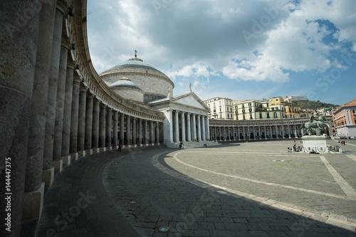 Valokuvatapetti Piazza del Plebiscito, Napoli