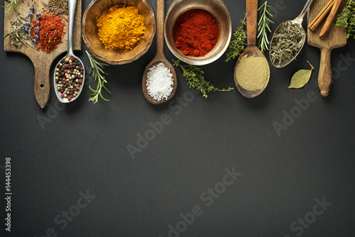 Canvas Prints Spices Herbs and spices
