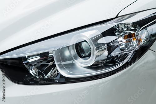 Obraz na plátně  New generation headlights, stylish design