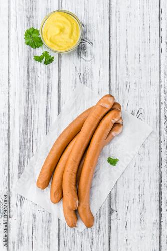 Wiener Sausages (selective focus)