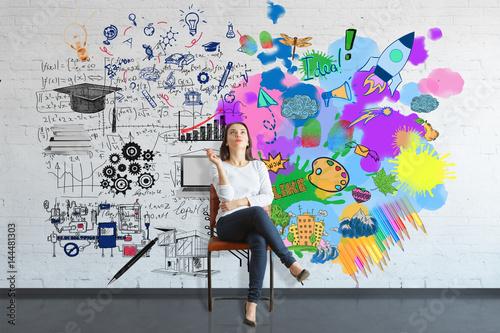 Fotografía  Creative and analytical thinking concept