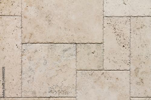 Fotografía Natural Italian stone. Smooth travertine surface