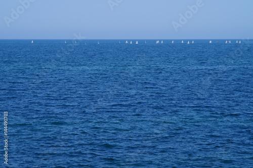 Fotografie, Obraz  orizzonte marino