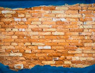 Panel Szklany Podświetlane Do przedpokoju Parede de tijolos.