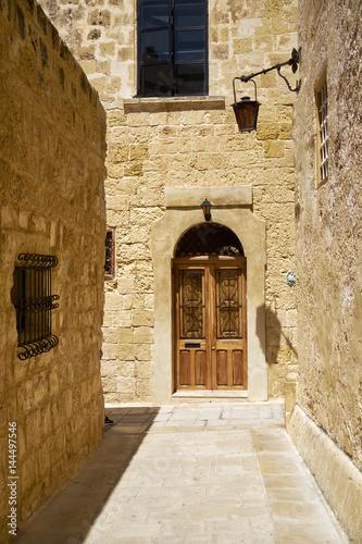 waska-ulica-mdina-starej-stolicy-malty