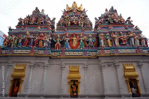 Photo  Hindu temple view