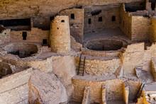 The Ruins At Mesa Verde
