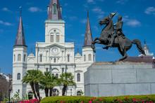 Andrew Jackson Statue, St. Lou...