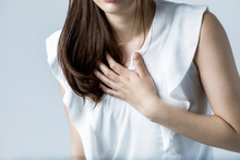 Young Woman Having A Heart Ache