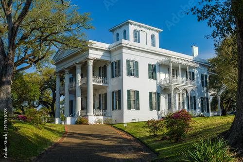 Photo stanton hall mansion, natchez, mississippi