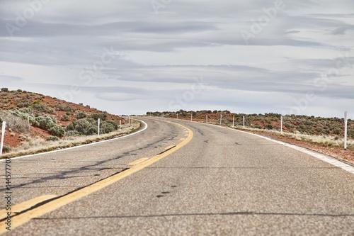 Keuken foto achterwand Route 66 Incredibly beautiful landscape in National Park, Utah, USA