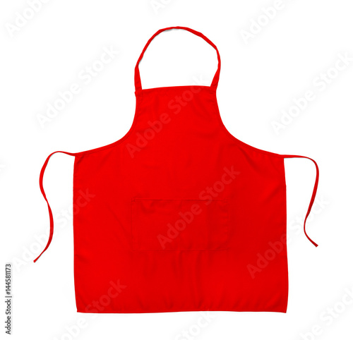 Red Apron Canvas Print
