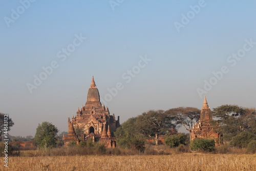 Photo  Bagan Burma Burmese Myanmar Buddhist Buddhism Buddha Shrine Shrines Temple Templ