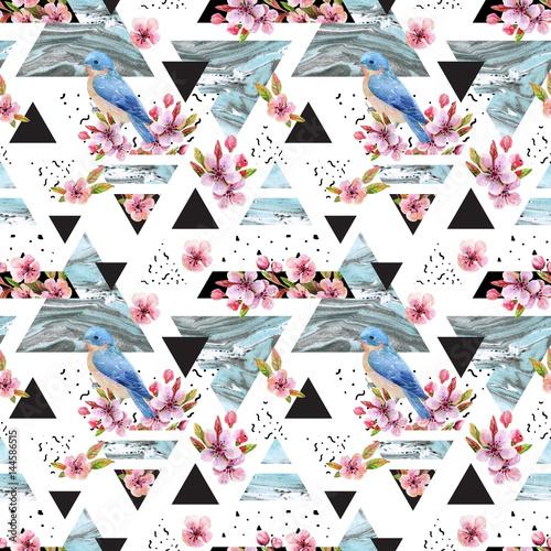 streszczenie-wiosna-geometryczny-wzor