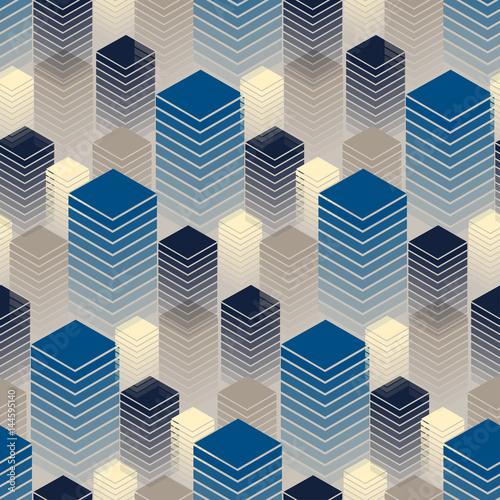 bez-szwu-z-rzedami-budynkow-w-kolorze-niebieskim-i-kosci-sloniowej