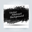 Vector abstract background with big splash and place for your text. Grunge Vector Illustration. Splatter template. Paint set for design use.