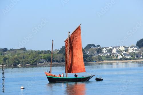 Tela  Sinagot - bateau à voile du Golfe du Morbihan