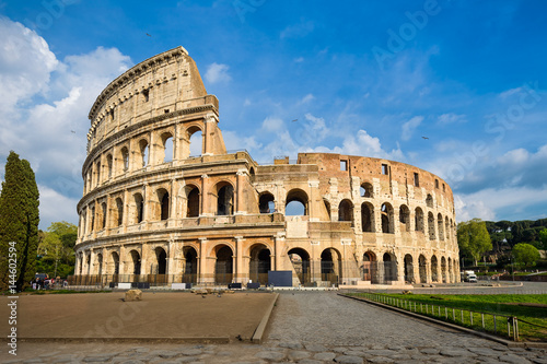 Canvas Print Colosseum in Rome, Italy