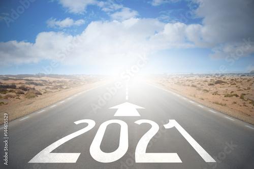 Fotografia  Road concept - 2021